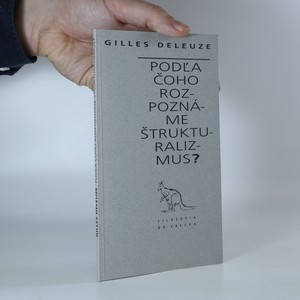 náhled knihy - Pod'la čoho rozpoznáme štrukturalizmus?