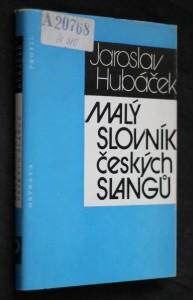 náhled knihy - Malý slovník českých slangů