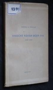 náhled knihy - Stručný nástin dějin USA (1918-1950)