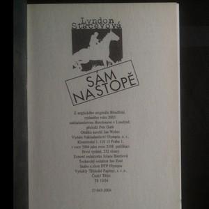 antikvární kniha Sám na stopě, 2004
