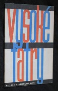 náhled knihy - Vysoké Tatry, príloha k turistickej mape