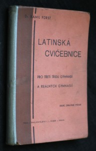 náhled knihy - Latinská cvičebnice pro třetí třídu gymnasií a reálných gymnasií