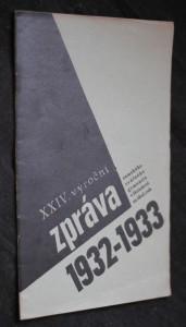 náhled knihy - XXIV. zpráva zemského reálného gymnasia v Holešově za školní rok 1932-1933