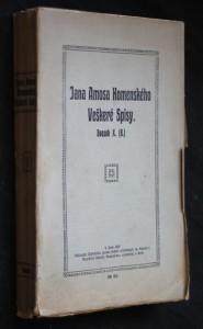 náhled knihy - Orbis pictus. Veškeré spisy Jana Amosa Komenského, svazek X. (8.)