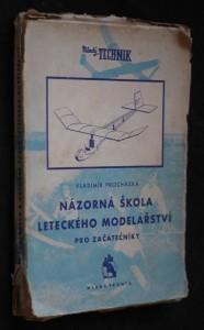 náhled knihy - Názorná škola leteckého modelářství pro začátečníky