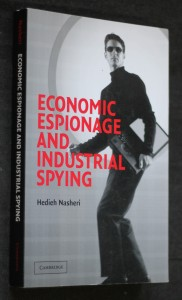 náhled knihy - Economic espionage and industrial spying