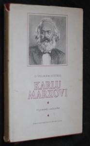 náhled knihy - O velikém učiteli Karlu Marxovi : vzpomínky : [sborník]