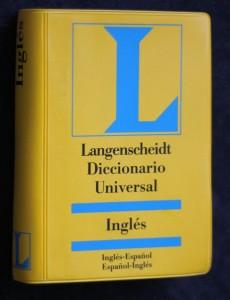 náhled knihy - Langenscheidt Diccionario Universal Inglés-Español, Español-Inglés