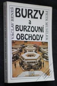 náhled knihy - Burzy a burzovní obchody