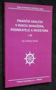 náhled knihy - Finanční analýza v rukou manažera, podnikatele a investora
