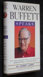 náhled knihy - Warren Buffett speaks