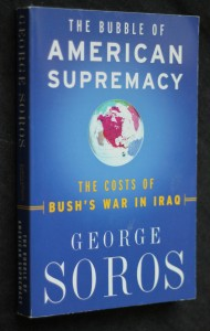 náhled knihy - The bubble of American supremacy, the costs of Bush's war in Iraq