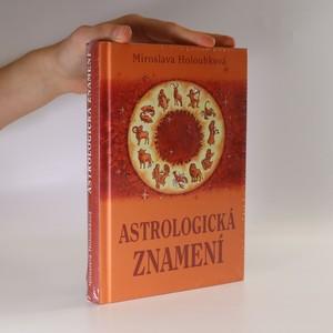 náhled knihy - Astrologická znamení. (kniha v původním obalu)