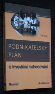 náhled knihy - Podnikatelský plán a investiční rozhodování
