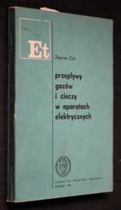 náhled knihy - Przepływy gazów i cieczy w aparatach elektrycznych