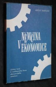 náhled knihy - Němčina v ekonomice : Učební texty k rozhlasovému kursu němčiny ekon. zaměření