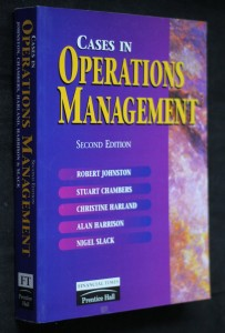 náhled knihy - Cases in operations management