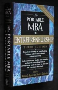 náhled knihy - The portable MBA in enterpreneurship