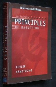 náhled knihy - Principles of marketing