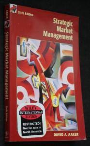 náhled knihy - Strategic market management