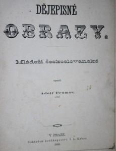 antikvární kniha Dějepisné obrazy mládeži československé, 1880