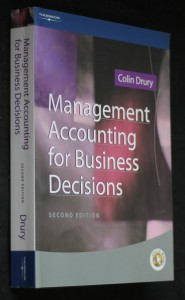 náhled knihy - Management accounting for business decisions