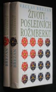 náhled knihy - Životy posledních Rožmberků, I.-II. díl
