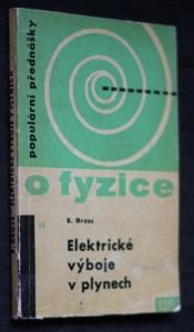 náhled knihy - Elektrické výboje v plynech