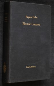 náhled knihy - Electric contacts, theory and application