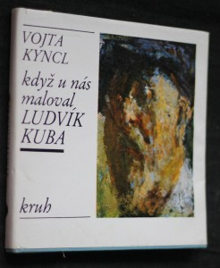 náhled knihy - Když u nás maloval Ludvík Kuba
