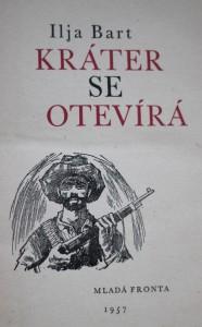 antikvární kniha Kráter se otevírá, 1957