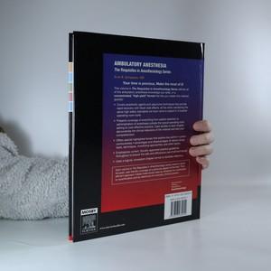 antikvární kniha Ambulatory Anesthesia, 2006