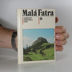náhled knihy - Malá Fatra. Turistický sprievodca ČSSR (+ mapa)