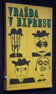 náhled knihy - Vražda v expresu