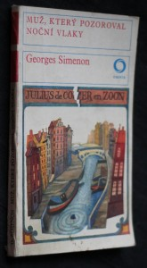 náhled knihy - Muž, který pozoroval noční vlaky