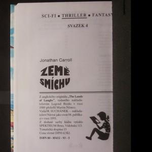 antikvární kniha Země smíchu, 1993