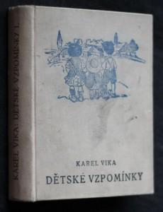 náhled knihy - Dětské vzpomínky