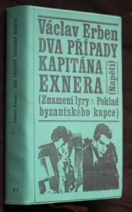 náhled knihy - Dva případy kapitána Exnera