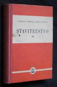 náhled knihy - Staviteľstvo IV. diel