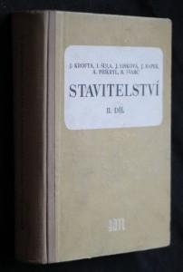 náhled knihy - Stavitelství II. díl