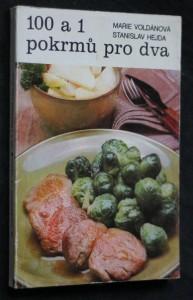 náhled knihy - 100 a 1 pokrmů pro dva