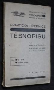 náhled knihy - Praktická učebnice těsnopisu