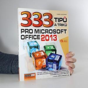 náhled knihy - 333 tipů a triků pro Microsoft Office 2013