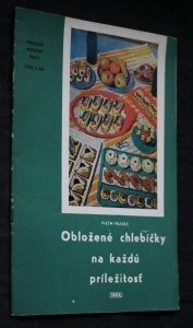 náhled knihy - Obložené chlebíčky na každú príležitosť