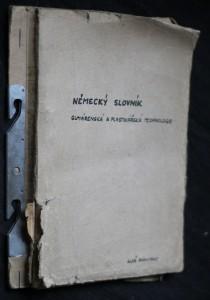 náhled knihy - Německo-český slovníček z oboru gumárenské a plastikářské technologie