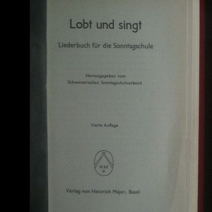 antikvární kniha Lobt und singt, neuveden