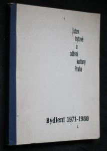 náhled knihy - Bydlení 1971-1980