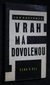 náhled knihy - Vrah má dovolenou