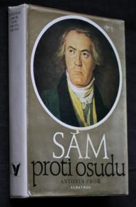 náhled knihy - Sám proti osudu : vyprávění o životě Ludwiga van Beethovena