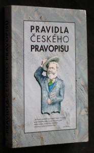 náhled knihy - Pravidla českého pravopisu s výkladem mluvnice